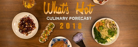 What's on the menu in 2018?